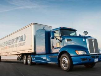 Brennstoffzellen Lastwagen, zustelldienst graz, zustelldienst, graz